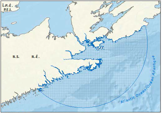 Map of the Port Hawkesbury pilot area