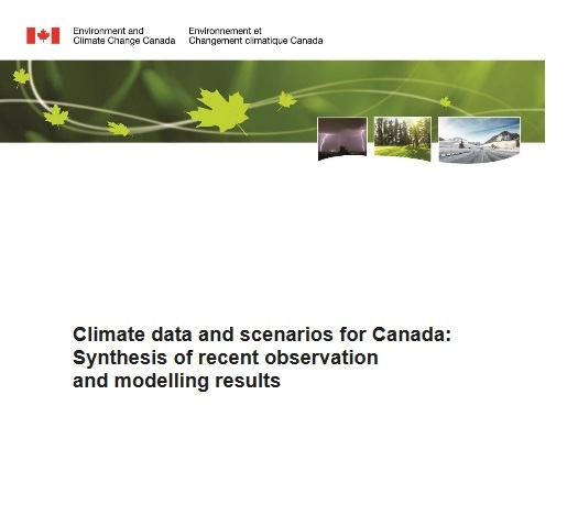 Climate Data and Scenarios for Canada report